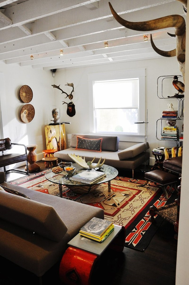 Southwestern style: powerful and warm tribal style